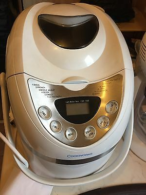 Cookworks  Breadmaker - White and Silver