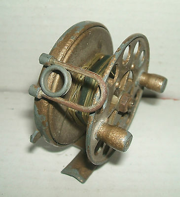"Vintage The ""wey"" Mark 1 Centre Pin Fishing Reel"