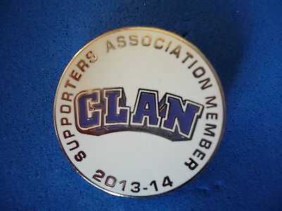 Braehead Clan Supporters Association Member Badge - 2013-14 .