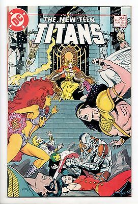 New Teen Titans #8 - There Might Be Giants (DC, 1985) - VF