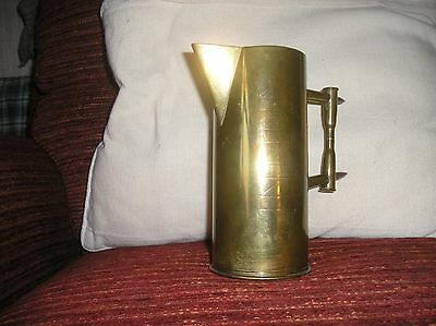 Trench art jug