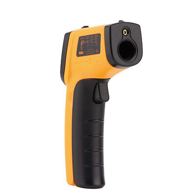 Infrared Thermometer Handheld laser temperature test digital LCD display.
