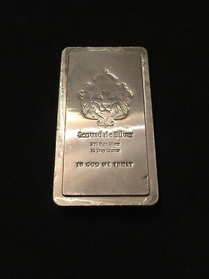 Scottsdale Silver Stacker Bar 10 Toy Ounce
