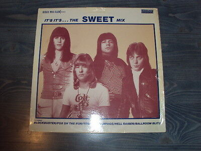 "The Sweet 12"" Single - It's Its'...the Sweet Mix - Disco Mix Club Megamix 1984"