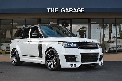 2015 Land Rover Range Rover 4WD 4dr Supercharged '15 Land Rover Range Rover Lumma CLR R Widebody,22