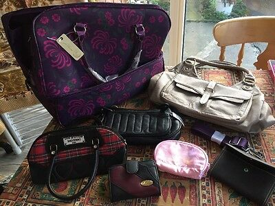 Small Job Lot Of Bags & Purses New & Used