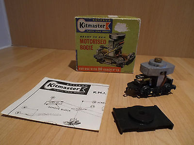 KITMASTER MOTORISED BOGIE FOR USE WITH OO COACH No 15, BOXED.
