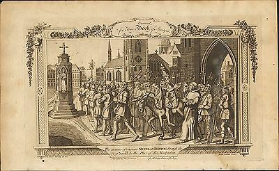 1776. suffering & death in the reign of mary 1st.  carrying n.burton sevill