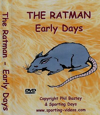 RATTING DVD - THE RATMAN - EARLY DAYS -ratting,terriers,patterdale,whippet