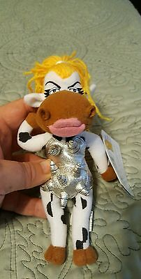 """Infamous Meanies """"moodonna""""  Plush   New With Tags"""