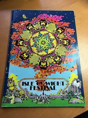 1970 Isle of Wight Festival Programme. Totally Original And Rare! Freepost Uk