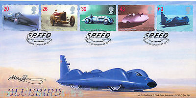 1998 Speed - Bradbury LFDC Official - Signed by MARK POSTLETHWAITE
