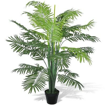 #sNEW Artificial Phoenix Palm Tree w/ Pot 130cm Fake Plant Arrangement Home Deco