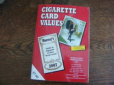 Murray Cards Ltd 2007 Catalogue Of Cigarette And Other Trade Cards Values