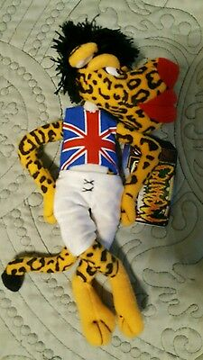 """Infamous Meanies """"mick Jaguar""""  Plush   New With Tags"""