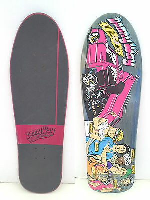 Danny Way O.c. Bladerunners Reissue Deck From 2011 Celebrating 21 Years Of Blind