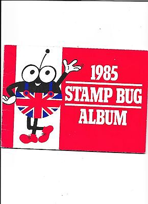 Great Britain Commemoratve Stamps 1985 Stamp Bug Album complete with all stamps