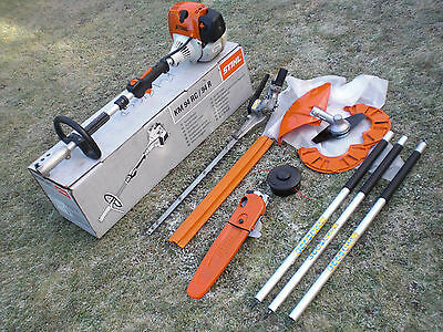 Stihl KM130 Hedge Trimmer Chainsaw Pruner New Strimmer Combi Kombi km100