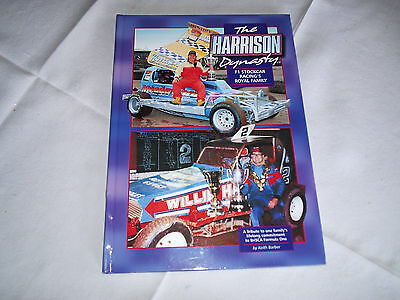 the harrison dynasty hardback stock car book