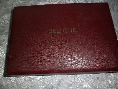 Bezique boxed card game