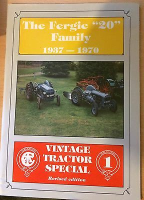 The Fergie '20' Family 1937-1970 - a Vintage Tractor Special