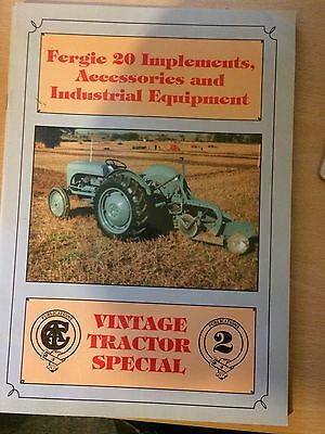 Fergie 20 Implements, Accessories & Industrial Equip - Vintage Tractor Special
