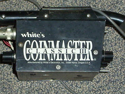Whites Coinmaster Classic III Metal Detector