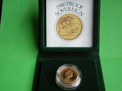 1980 proof sovereign in RM case with COA