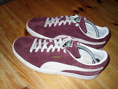 Puma Suede 80S Casuals Trainers Size 8.