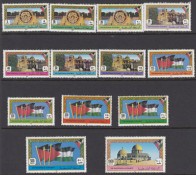 PALESTINE : 1994 definitives 5m-1000m SG PA1-13 MNH