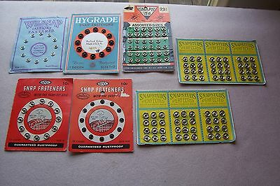 Vtg Antique collectible Cards of SNAPS LOT sewing
