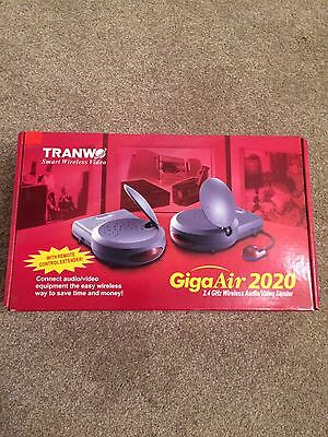 TRANWO GigaAir 2020 Wireless Audio/Video Sender with Remote Control