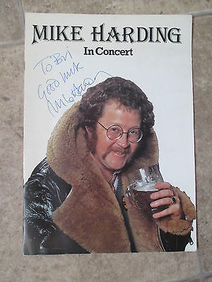 Mike Harding 1978 Tour of Britain programme signed rare