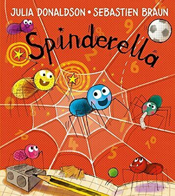 Spinderella by Donaldson, Julia Book The Cheap Fast Free Post