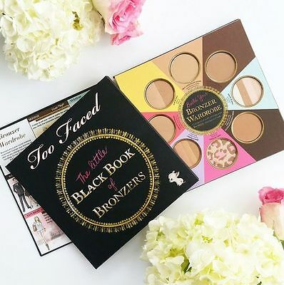 Too Faced The Little Black Book of Bronzers Bronzer Wardrobe Palette Makeup Kit