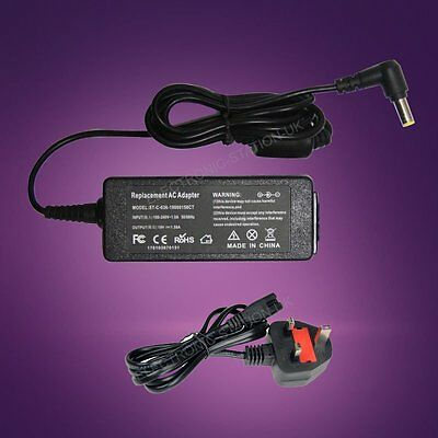For 19V 30W Acer Aspire One ZG5 A110 Netbook Battery Adapter Charger Power Cord