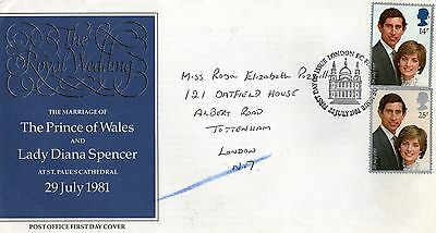 Charles and Diana Wedding First Day Cover