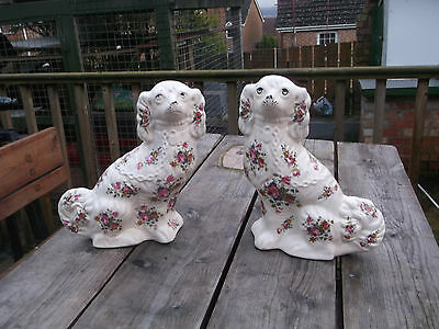 Staffordshire KLM  Mantle Spaniels 12 INS TALL