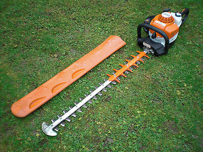 "2016 Stihl HS82 RC 32"" Double Sided Swivel Handle Petrol Hedge Trimmer hs81r"