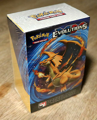 Pokemon Evolutions Prerelease Kit TCG Sealed Brand New Promo Box Charizard ?