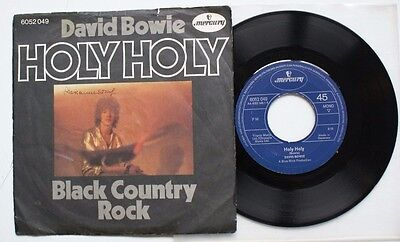 """David Bowie 7"""" German Holy Holy"""