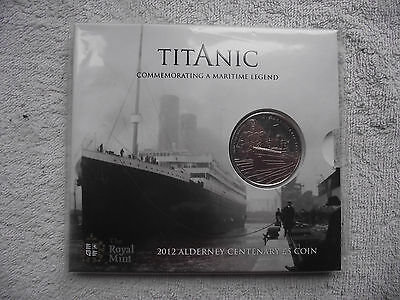 2012 Royal Mint Titanic 100th Anniversary £5 Pound Coin Pack Mint Sealed