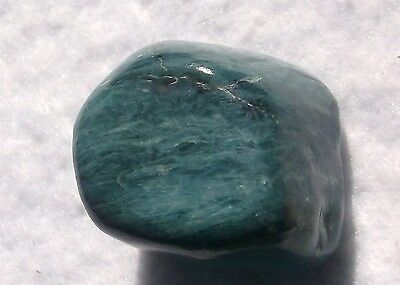 Rare Vonsen Blue Jade Polished Nugget 43.6 Grams or 218 Carats Petaluma CA