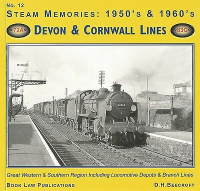 STEAM MEMORIES 1950's & 60's. DEVON AND CORNWALL LINES. OO N REFERENCE