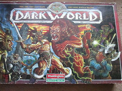 Dark World Waddingtons Boxed Board Game Boardgame Family Vgc Looks Complete