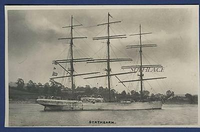 Full Rigged Ship Strathearn Port Glasgow Germany Henriette Condemned China Sail
