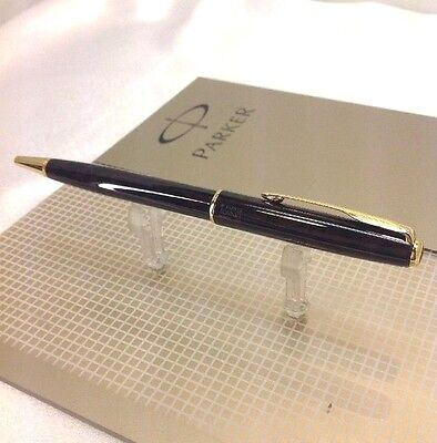 Parker Sonnet Autumn Laque Red GT Gold Trim Ball Point New Old Stock