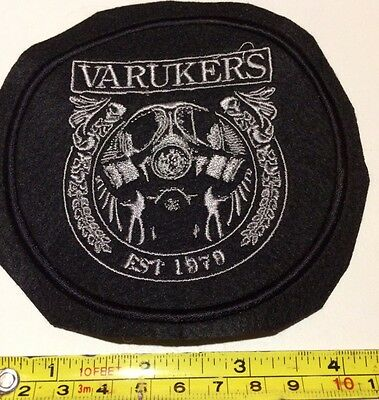 Varukers Embroidered Patch Punk Discharge Exploited