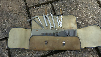 USSR car tool kit collectable vintage tools Moskvitch Russian Spanners Vehicle