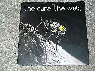 The Cure ‎– The Walk fics 18 UK silver label EX